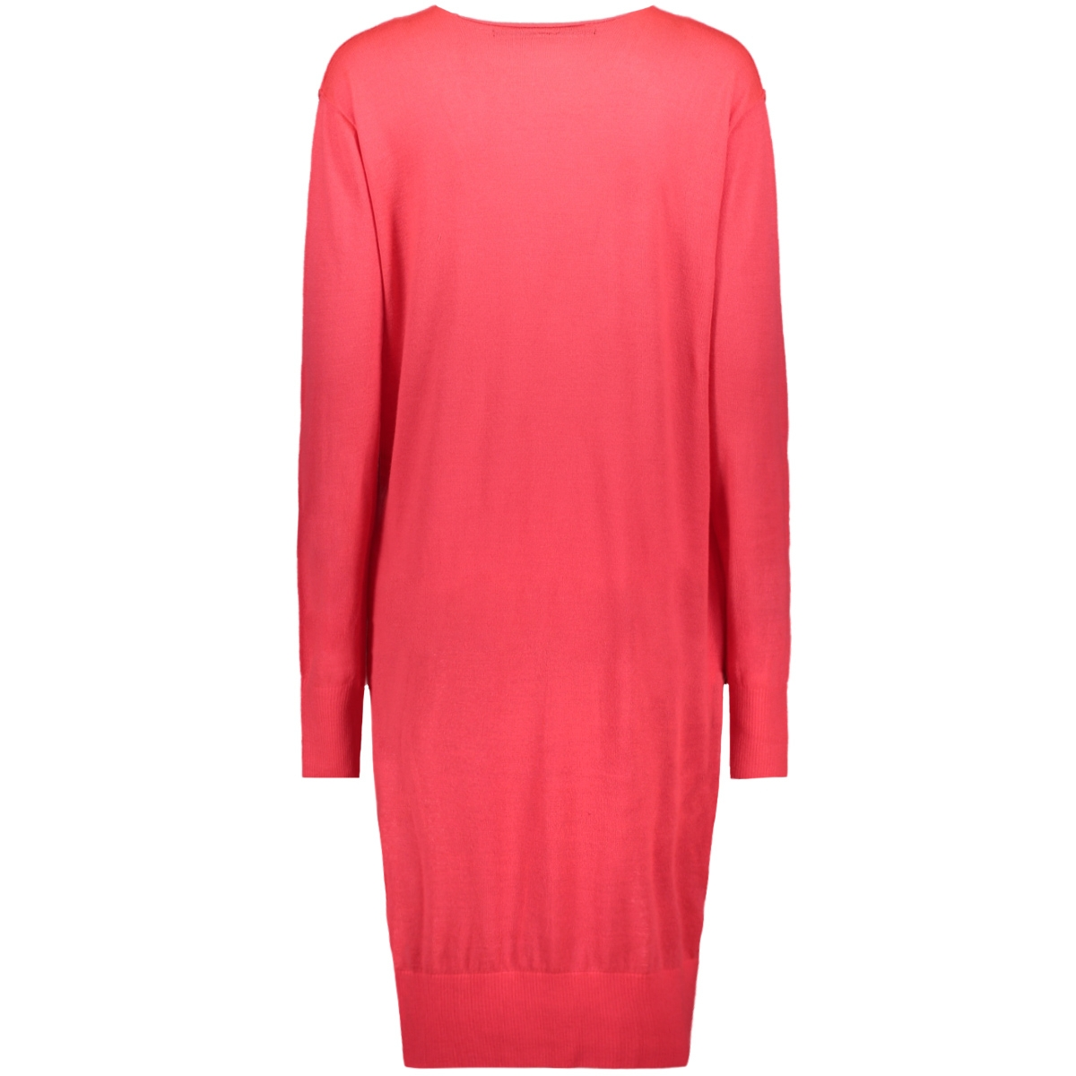 v-neck dress knit 20 635 0203 10 days jurk 1085 bubblegum