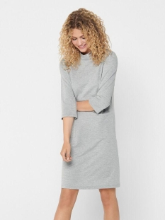 jdyselma 3/4 pocket dress jrs 15211498 jacqueline de yong jurk light grey melange