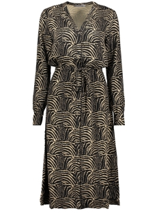 Geisha Jurk DRESS 07631 20 Black/Sand Combi