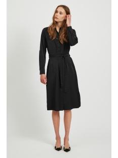 objeileen l/s shirt dress noos 23032993 object jurk black
