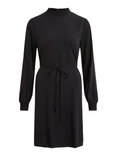 Vila Jurk VIDANIA SMOCK L/S DRESS/SU 14058336 Black