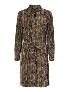 Vero Moda Jurk VMSAGA LS ABK COLLAR SHIRT DRESS WV 10234360 TAN/SELMA