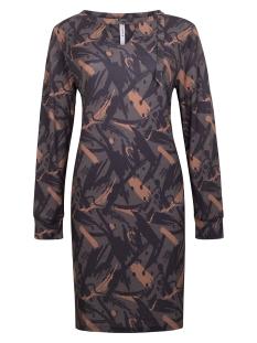 BELLE SPLENDOUR DRESS 204 CARBON/COGNAC
