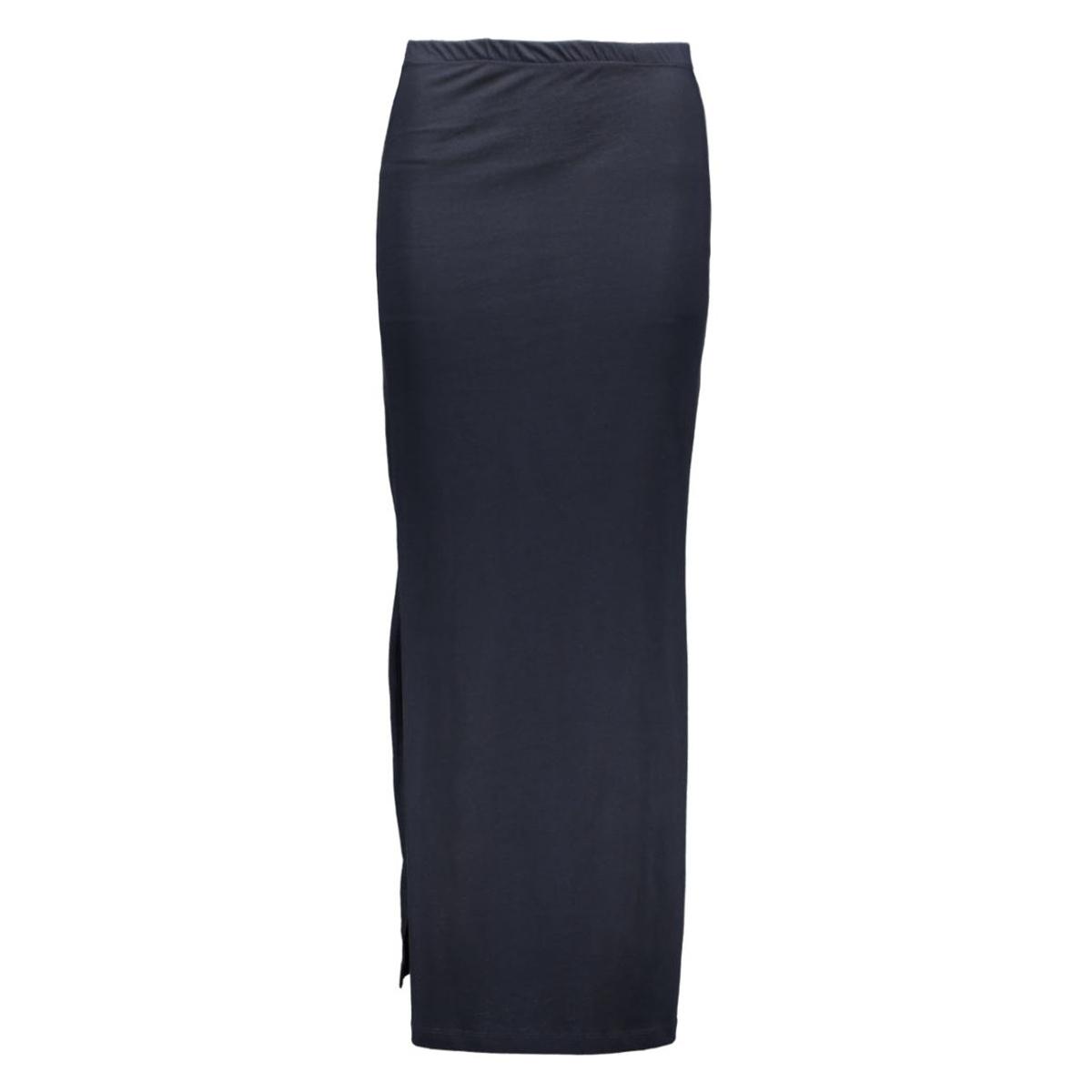 onlabbie long slit skirt 15111375 only rok night sky