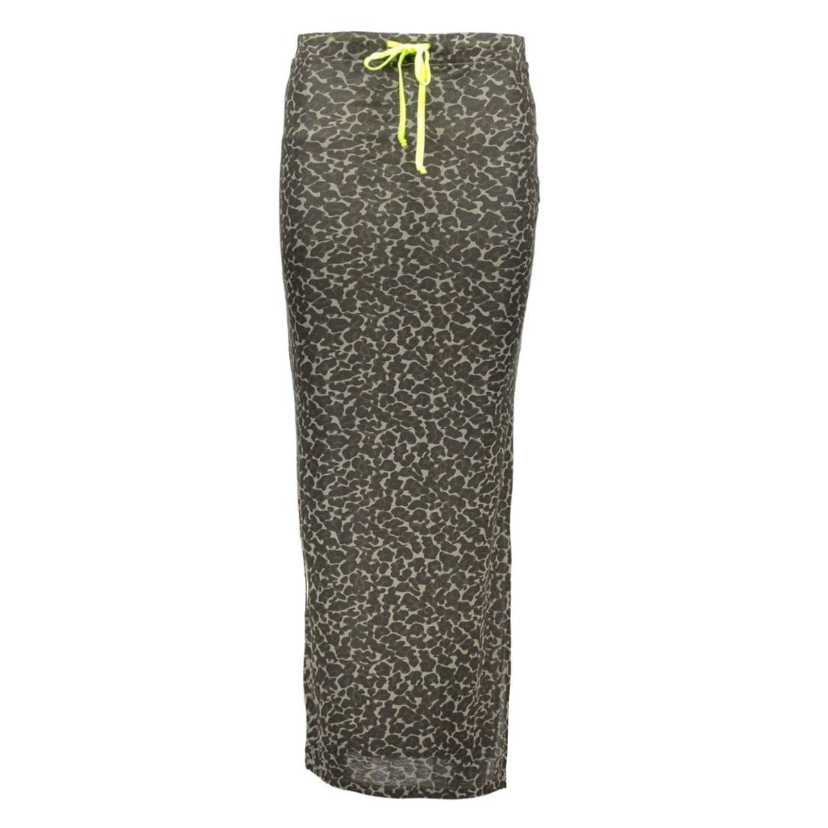 wildy maxi skirt 14035846 vila rok ivy green