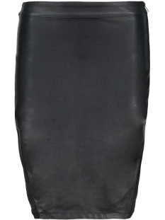 Only Rok onlMARCI FAUX LEATHER MIX MIDI SKIRT 15124497 Black