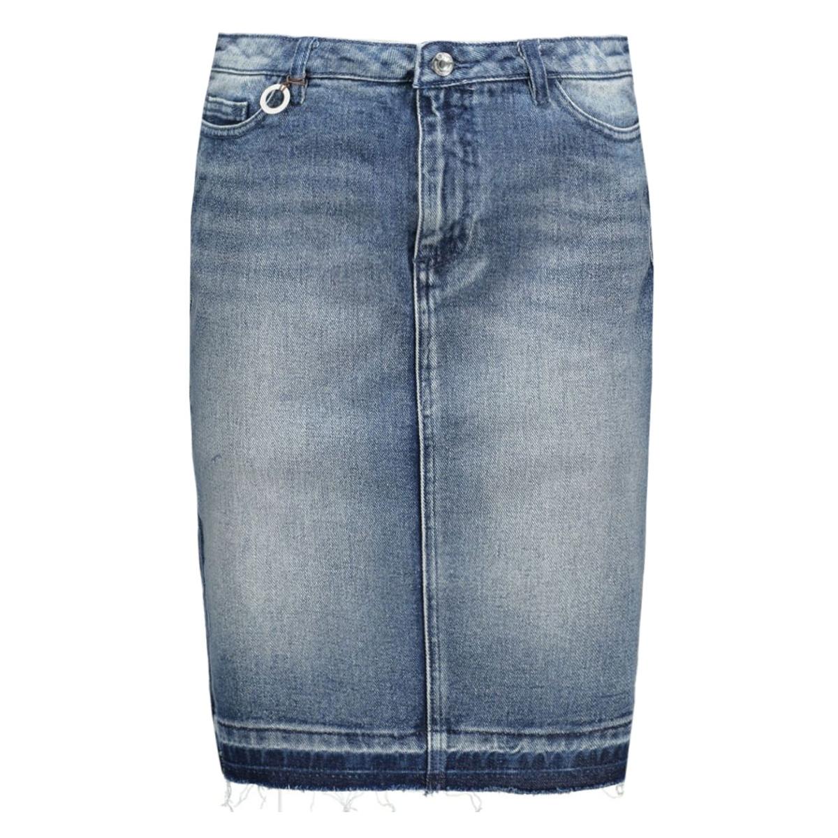 onltenna dnm skirt raw edge bj6773 15116410 only rok light blue denim