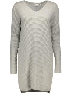 objnadine l/s knit dress noos 23023212 object jurk lgm