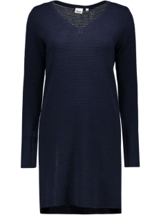 OBJNADINE L/S KNIT DRESS NOOS 23023212 Sky Captain