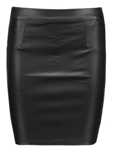 vicomma coated skirt-noos 14036133 vila rok black