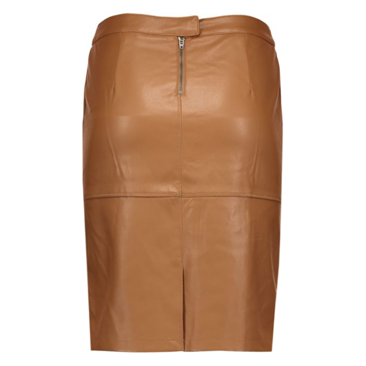 vipen new skirt-noos 14033417 vila rok oak brown