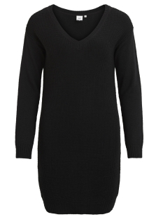 Object Jurk OBJDEAH L/S KNIT DRESS 86 .I 23023274 Black