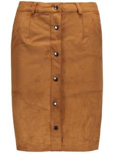 objemma faux suede skirt 84 div 23022748 object rok cognac