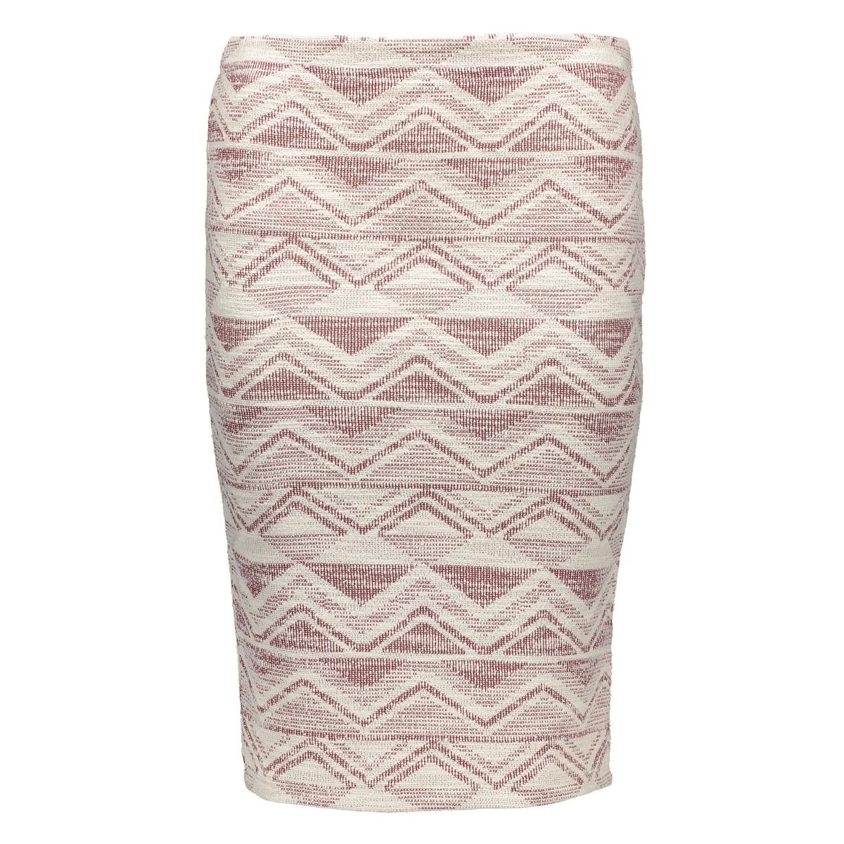 onlkamma pencil skirt ess 15123380 only rok cloud dancer/fudge