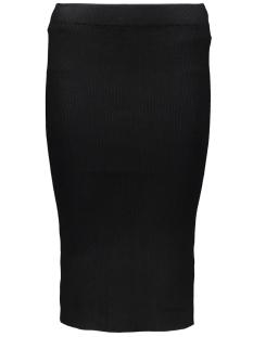 Vero Moda Rok VMGLORY BABETTE RIB SKIRT 10159355 Black