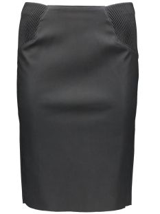 VMTWIRLEY PU HW KNEE SKIRT DNM 10159537 Black