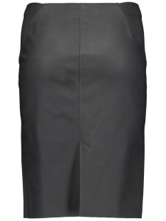 vmtwirley pu hw knee skirt dnm 10159537 vero moda rok black