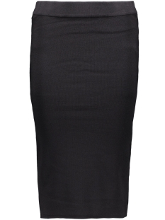 OBJVIOLA MW CALF KNIT SKIRT 23023140 Black