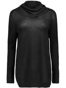 vitobi draped knit tunic 14035611 vila tuniek black