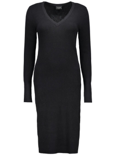 VIANDREA  L/S KNIT DRESS 14037958 Black