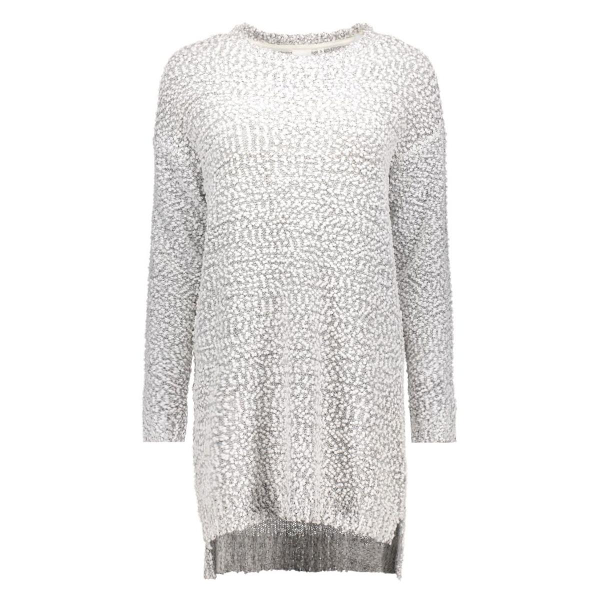 objsofial l/s knit dress 23023166 object jurk gardenia