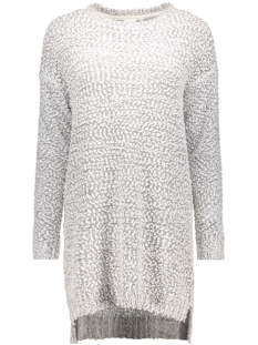 Object Jurk OBJSOFIAL L/S KNIT DRESS 23023166 Gardenia