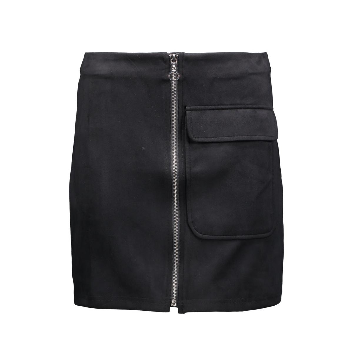 vmisla hw fake suede mini skirt 10161870 vero moda rok black