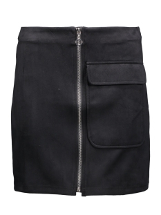 vmisla hw fake suede mini skirt 10161870 vero moda rok black