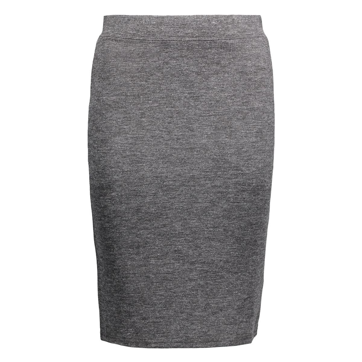 vmnora nw bk skirt swt 10161233 vero moda rok dark grey melange