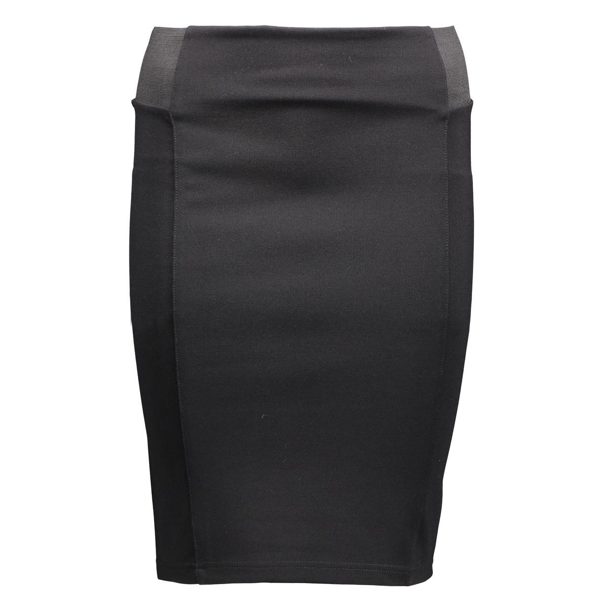 vmshane hw above  knee skirt rep 10170803 vero moda rok black