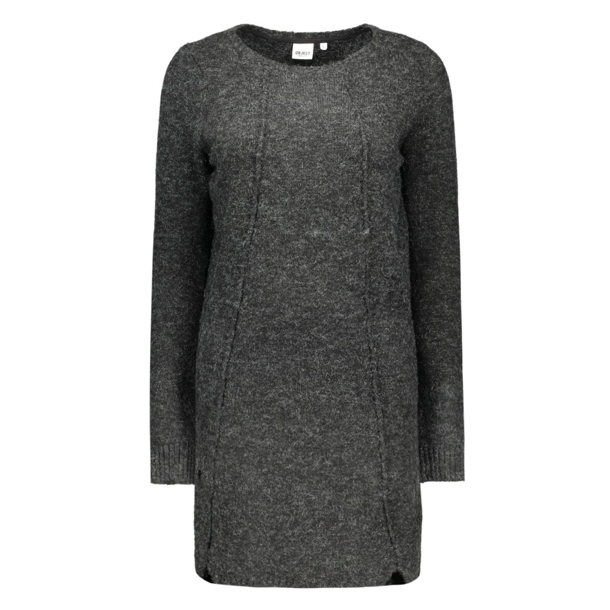 objnonsia l/s knit dress 86 23022973 object jurk vetiver