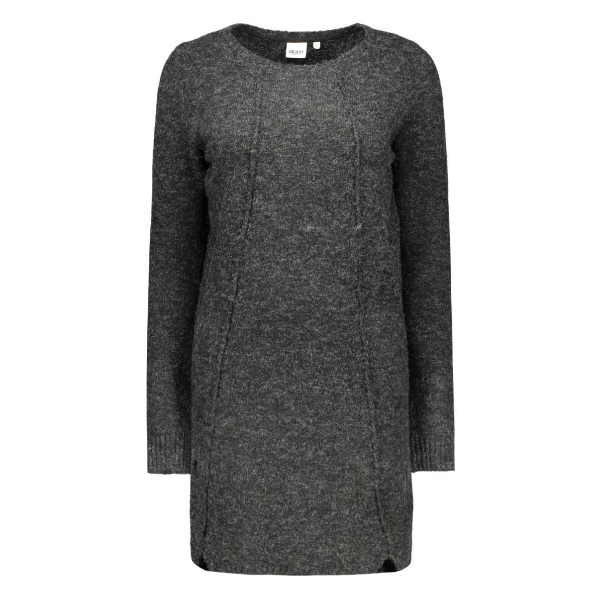 objnonsia l/s knit dress 86 23022973 object jurk vetiver
