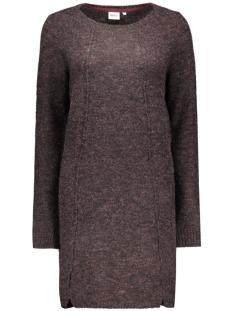 objnonsia l/s knit dress 86 23022973 object jurk sparrow