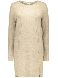 objnonsia l/s knit dress 86 23022973 object jurk cobblestone