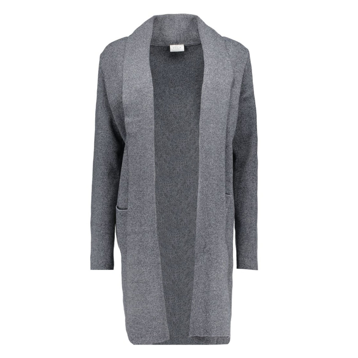 violympa l/s knit coatigan 14036802 vila vest ebony