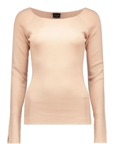 VIHELENA L/S KNIT TOP 14036775 Rose Dust