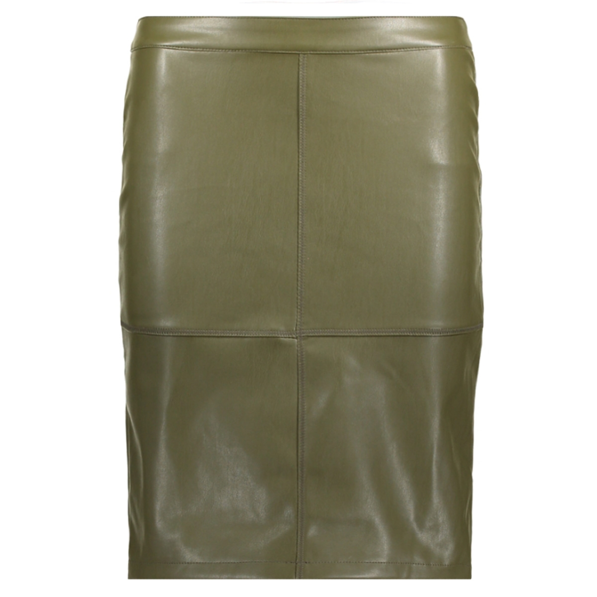 vipen new skirt-noos 14033417 vila rok ivy green
