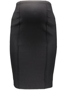 mlluna jersey pintuc skirt 20006808 mama-licious positie rok black