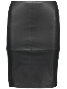 Only Rok onlCELINA FAUX LEATHER MIDI SKIRT O 15124447 Black