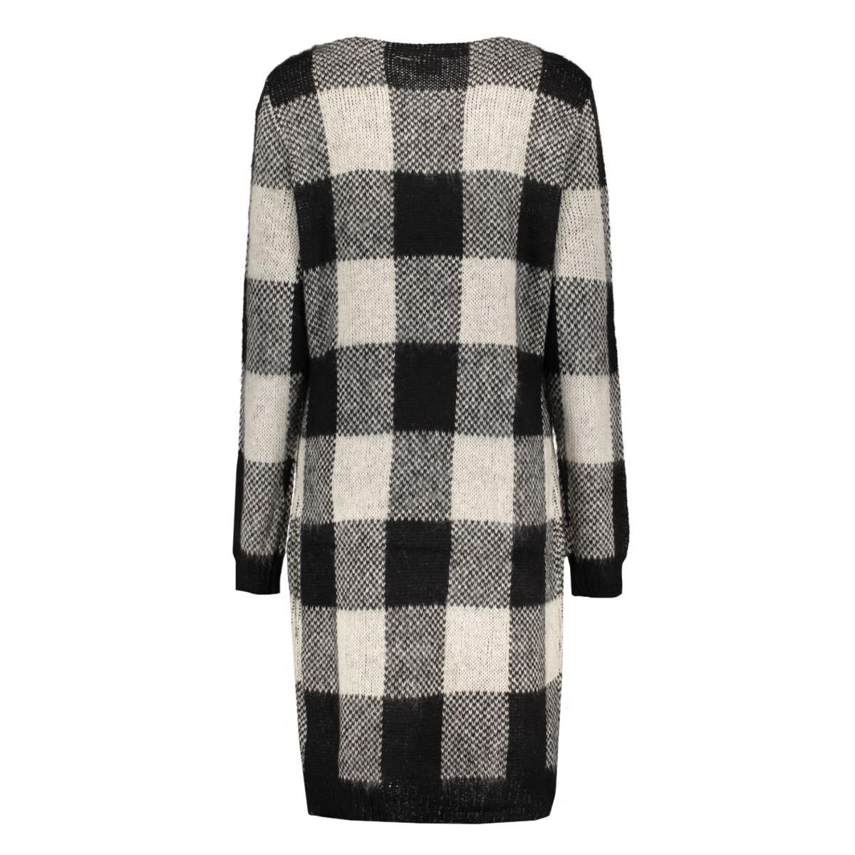 objtrille l/s knit dress 87 23023061 object jurk black