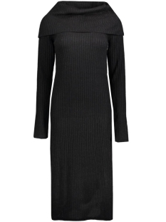 VIRIB L/S KNIT DRESS 14036833 Black