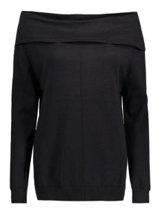 Object Trui OBJNAVEL L/S KNIT PULLOVER 23023492 black
