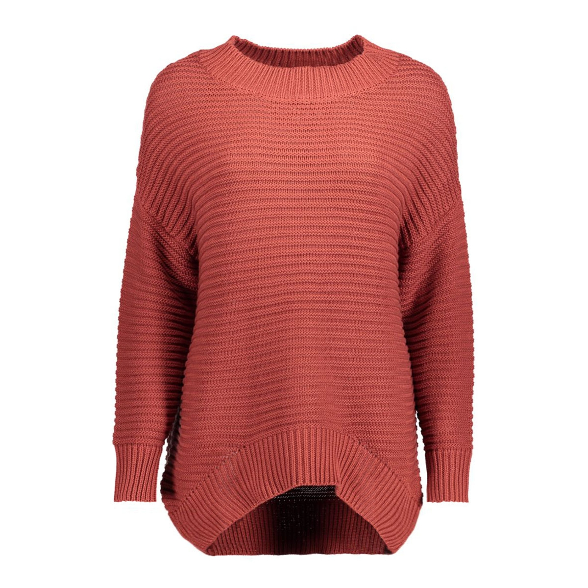 objmaries l/s knit pullover .i 87 23023170 object trui rosewood