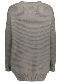 objmaries l/s knit pullover .i 87 23023170 object trui medium grey melange