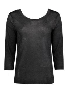 objbrooklyn 3/4 knit top 23023500 object t-shirt black