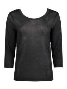 Object T-shirt OBJBROOKLYN 3/4 KNIT TOP 23023500 Black