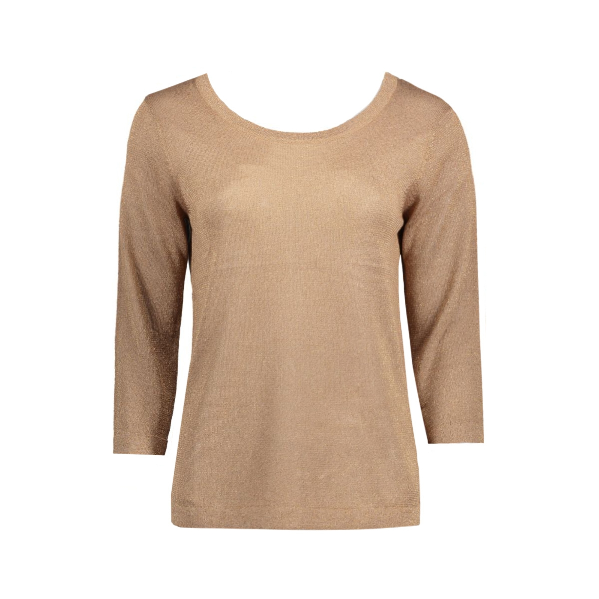 objbrooklyn 3/4 knit top 23023500 object t-shirt ginger snap