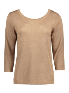 Object T-shirt OBJBROOKLYN 3/4 KNIT TOP 23023500 Ginger Snap