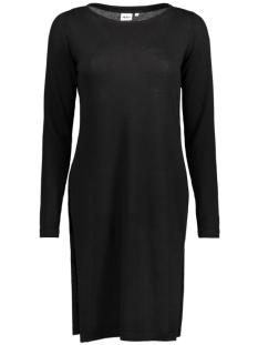OBJANNA LIGHT SLIT KNIT DRESS 23024000 Black