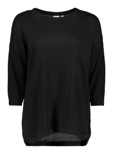 Object Trui OBJANNA LIGHT 3/4 KNIT PULLOVER 23024066 Black
